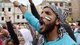 آلاف المغاربة في مسيرة حاشدة تضامنًا مع الفلسطينيين