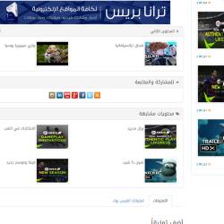 أسفل صفحة الفيديو